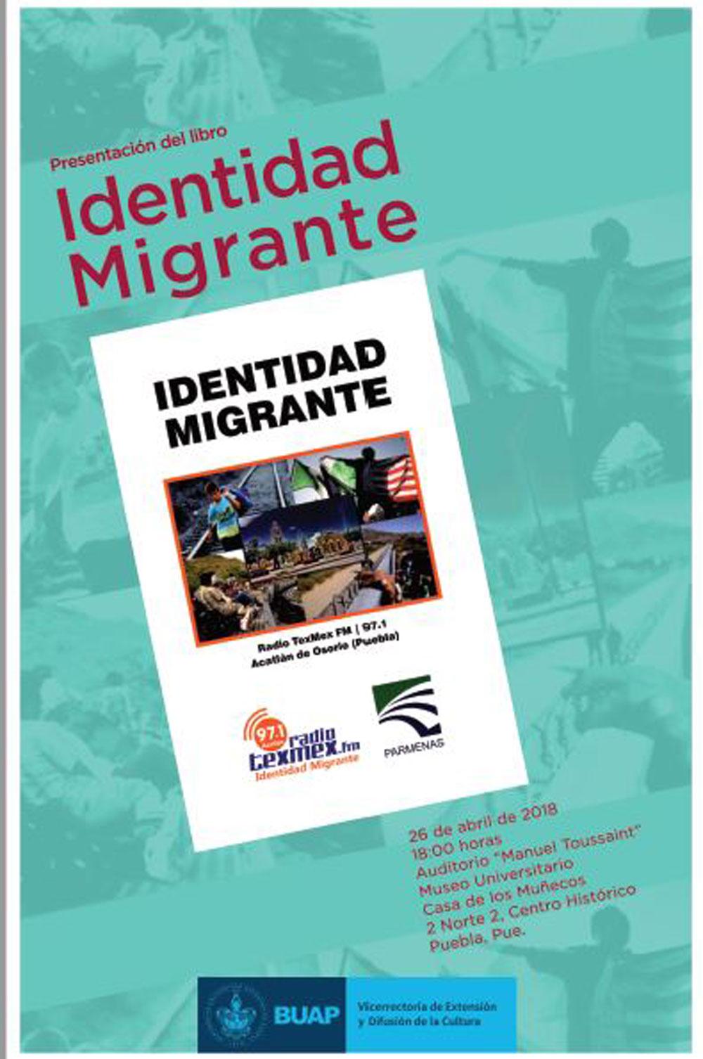 Presentaci n del libro identidad migrante benem rita universidad aut noma de puebla - Casa del libro telefono gratuito ...